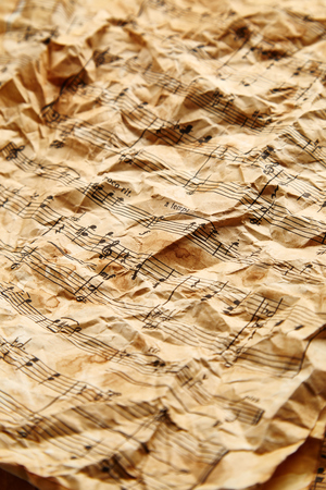 octaves: Vintage Music sheets background