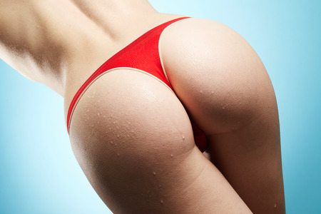 sexy butt: Woman ass Stock Photo