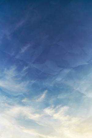 Beautiful sky background Фото со стока