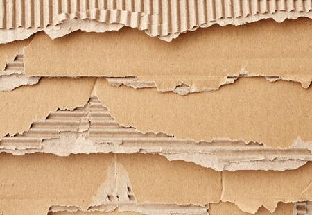 frame  box: Texture of beige torn cardboard