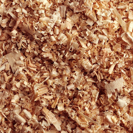 filings: Texture of wood sawdust Stock Photo