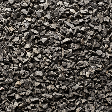 gravel: Texture of basalt stones Stock Photo