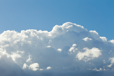 stormy clouds: Stormy clouds in blue sky