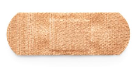 primeros auxilios: Esparadrapo aisladas sobre fondo blanco