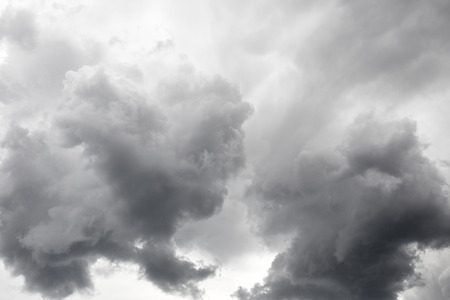 stormy clouds: Dark grey stormy clouds. Nature background