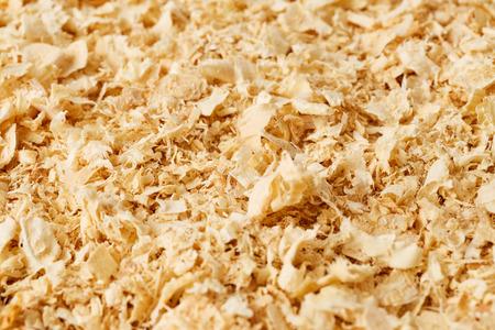 sawdust: Wooden sawdust background