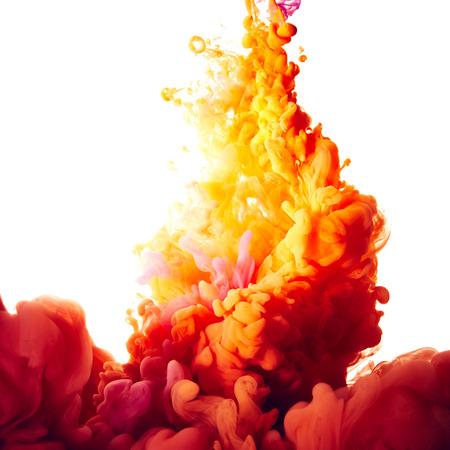 splash abstract: Abstract paint splash background