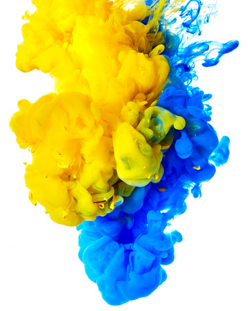 Spritzen der Farbe. Abstract background Standard-Bild - 57584303