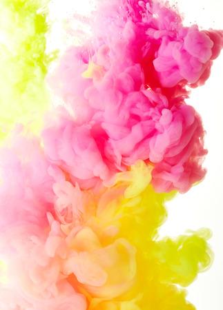 Abstract paint splash background Standard-Bild - 60664381
