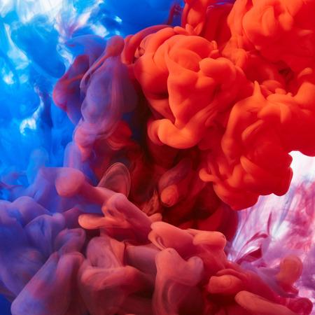 splash abstract: Inks in water. Abstract splash Stock Photo