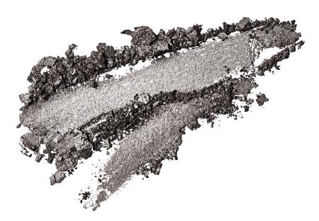 Lidschatten Schlaganfall isoliert auf weißem Hintergrund Standard-Bild - 85008569