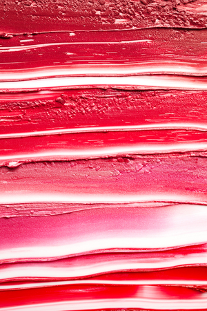 Smudged lipsticks background