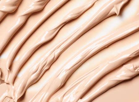 Background of liquid make up foundation