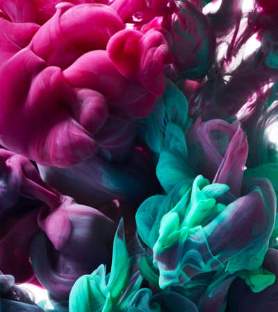 Paint splash. Bright abstract background Banque d'images
