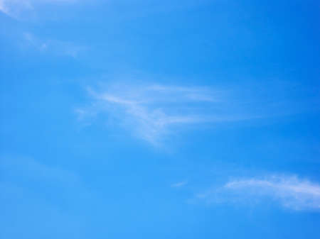 Beautiful clear blue sky. Nature background Banque d'images
