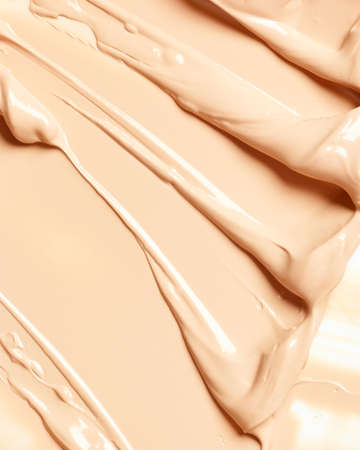 Background of liquid makeup foundation