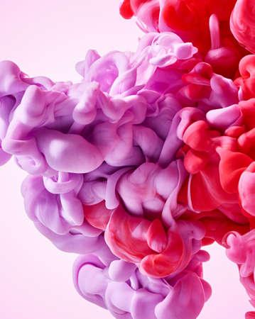 Abstract bright paint splash background Standard-Bild