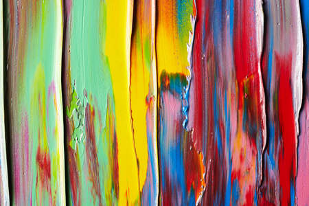 Abstract background of smears of paint