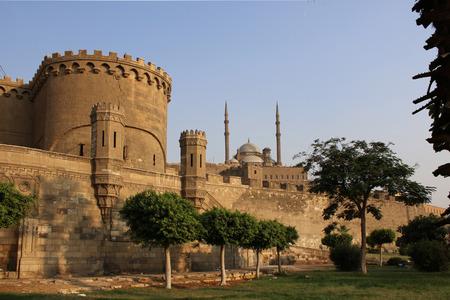 the citadel: Antica cittadella del Cairo. Egitto.