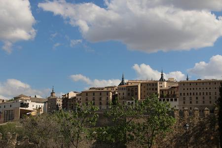 toledo: Toledo Spain. Old town cityscape.