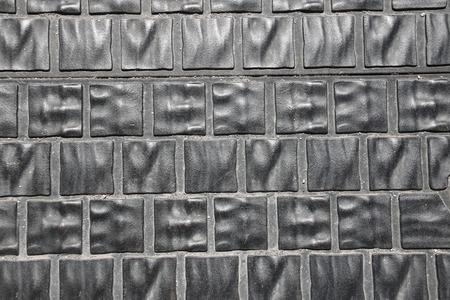 slabs: Background of metallic gray paving slabs. Budapest, Hungary