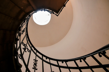 house with style: The Spiral stairs St.Stephens Basilica Budapest Hungary.
