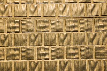 slabs: Background of metallic green paving slabs. Budapest, Hungary