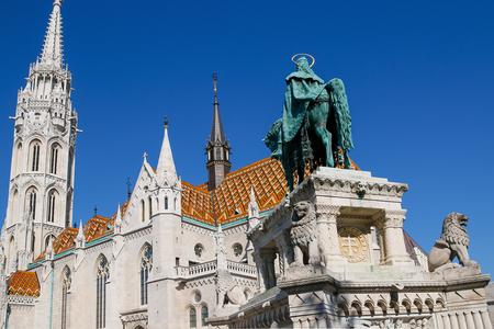 matthias church: The Matthias Church, the Fishermens Bastion. Budapest, Hungary