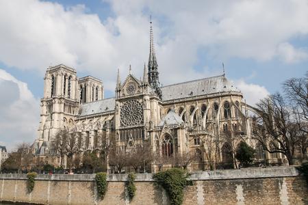De kathedraal van Notre Dame de Paris, Frankrijk.