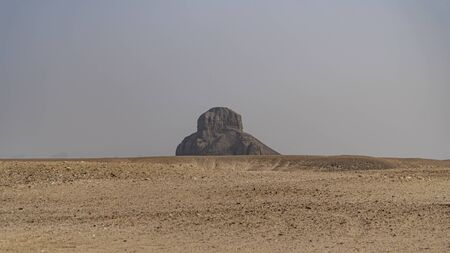 The Black Pyramid was built by King Amenemhat III during the Middle Kingdom of Egypt 2055-1650 BC. It is one of the five remaining pyramids of the original eleven pyramids at Dahshur in Egypt