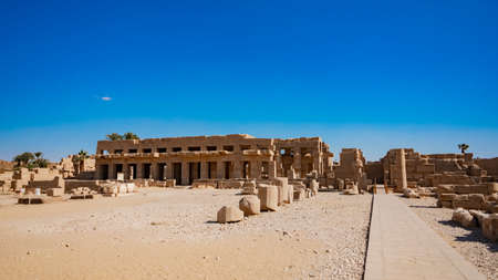 Karnak Temple in Luxor, Egypt.