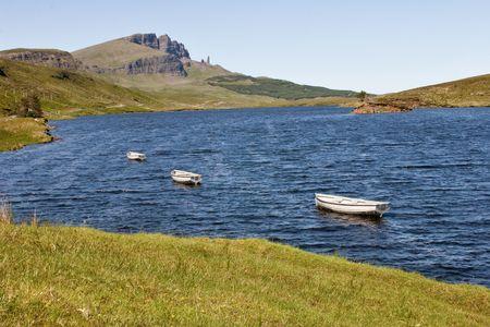 Loch on the isle of Skye photo