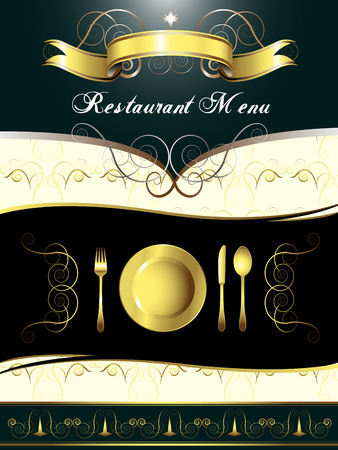 Menu Card Design Vector