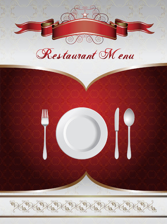 Menu Card Design Stock Vector - 8193638