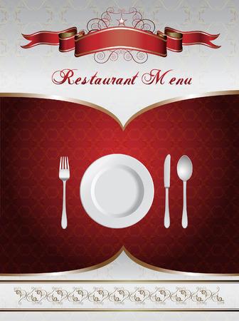 dinner party: Menu Card Design