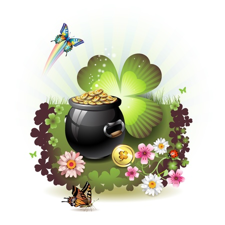 patric: St. Patricks Day card design