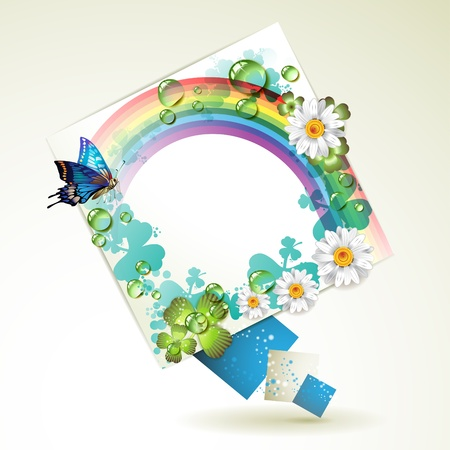 abstract, art, background, banner, blank, blend, blue, bright, bubble, butterflies, clean, clover, color, composition, concept, creative, curve, decoration, design, dialog, digital, drop, flower, futuristic, geometric, graphic, green, illustration, isolat Vector