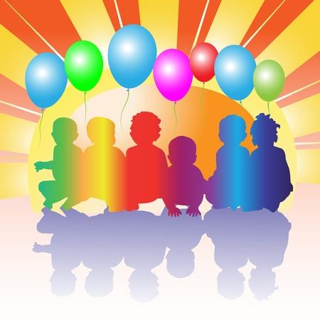 kinder: Happy friends kids