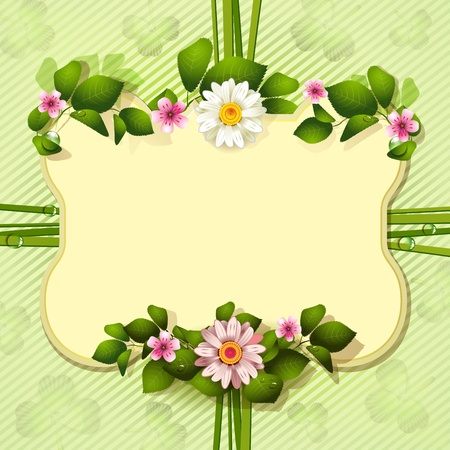 Mirror frame for St  Patrick s Day Stock Vector - 13133894