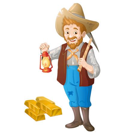 mineros: Los mineros de oro