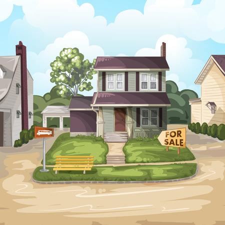 Haus für Verkauf  Standard-Bild - 44286237