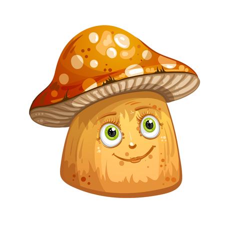 spore: Cartoon mushrooms Illustration