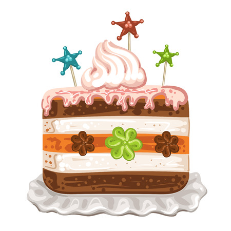 porcion de torta: sabroso pastel de chocolate y crema batida