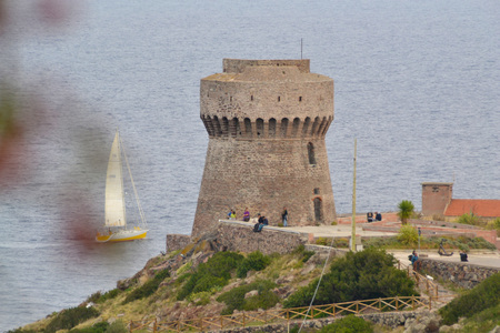 The Tower of Porto of Capraia. Italy Editöryel