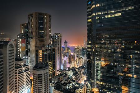 causeway: Hong Kong skyscrapers view in Causeway Bay