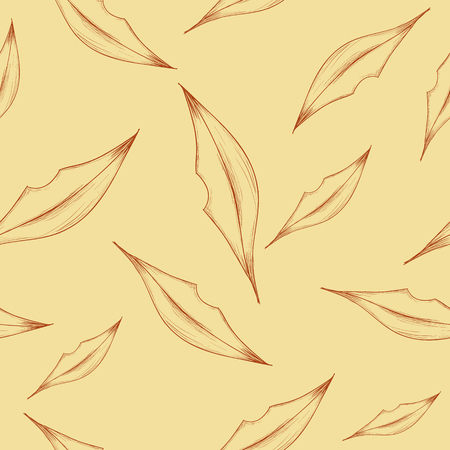 beuty: Illustration of seamless pattern with abstract lips on the beige background. Vector illustration. Illustration
