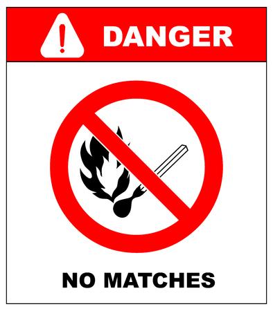 point exclamation: Non fumeur, Sans flamme, Aucune correspondance. Le feu, source d'inflammation ouverte et signe de fumer interdit. symboles dangereuses d�finies. Fiche d'avertissement. Point d'exclamation. Illustration