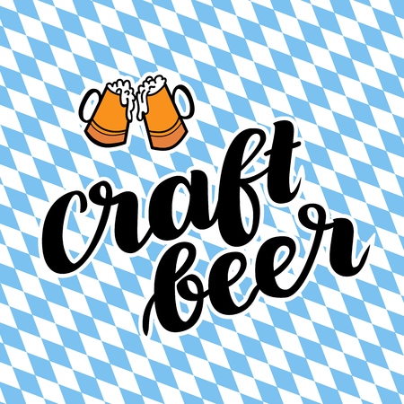 Craftbeer. Traditional German Oktoberfest bier festival.