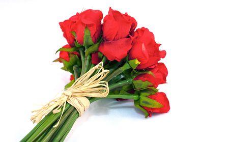 Rosas rojas.  Foto de archivo - 6610879