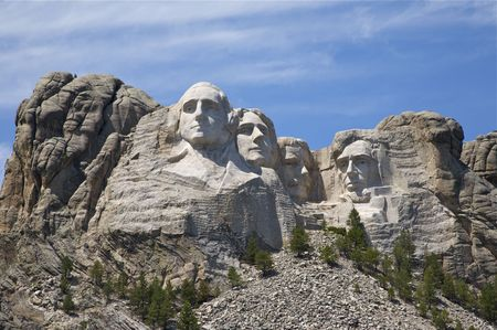 dakota: Mount Rushmore, South Dakota Editorial